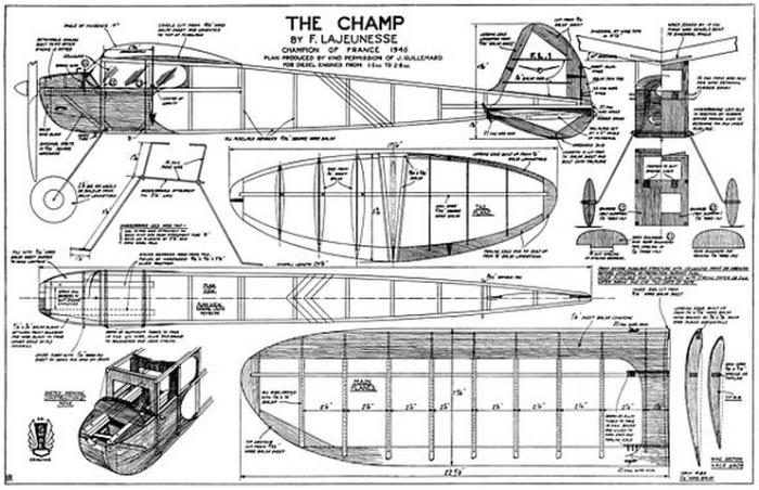 The Champ plane plans