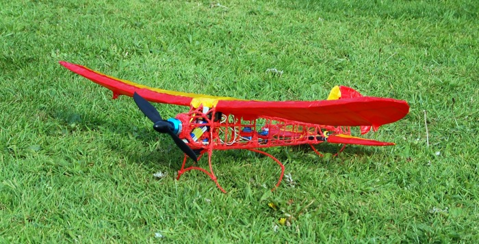 3Doodler Plane - Finished pre flight