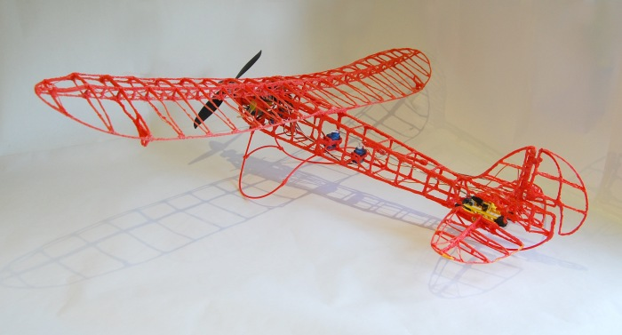 3Doodler Plane - Full flight kit 5