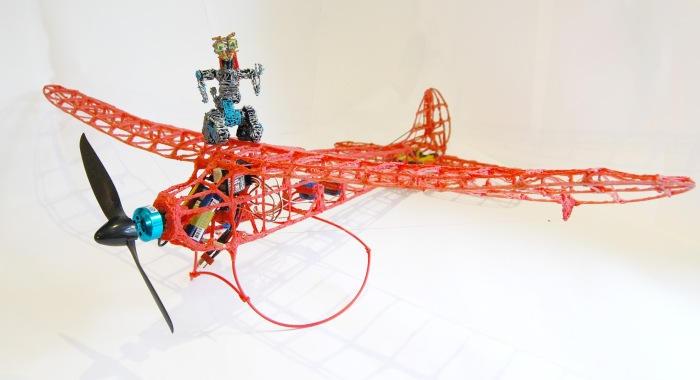 3Doodler Plane - Full flight kit johnny 5