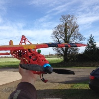 The Last Flight of The 3Doodler Plane